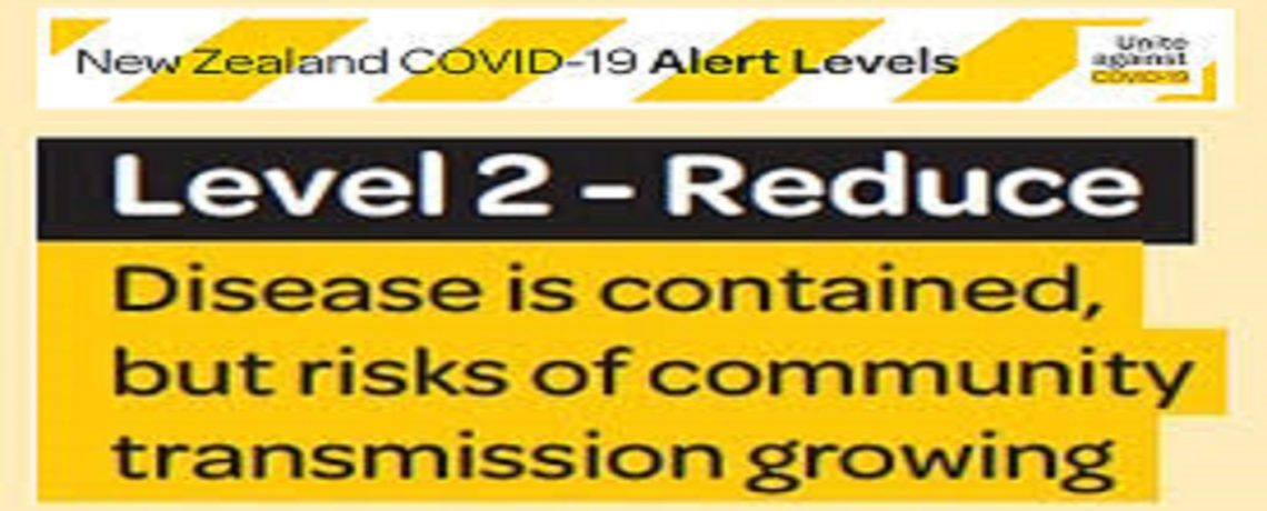 Alert Level 2 and FAQ